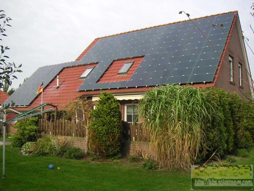 屋顶太阳能发电系统