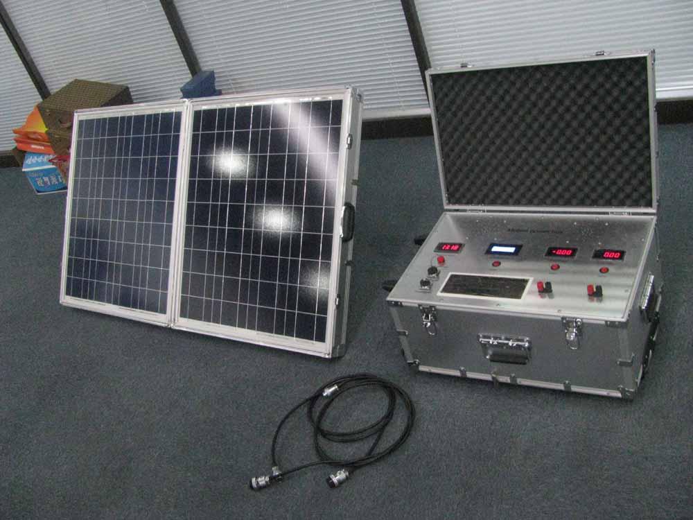 200W太阳能移动电源