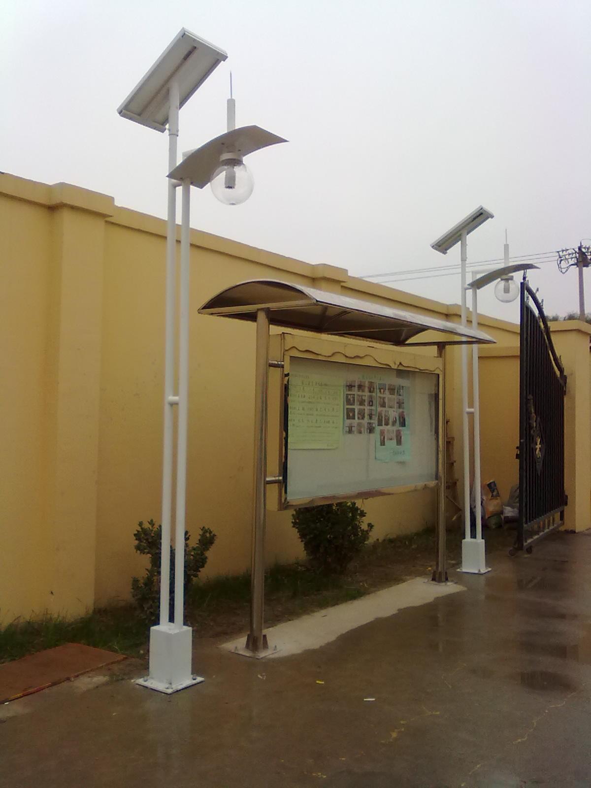 北京海天停车场太阳能庭院灯工程