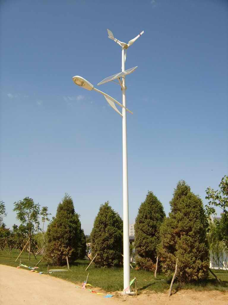 葫芦岛风光互补路灯工程