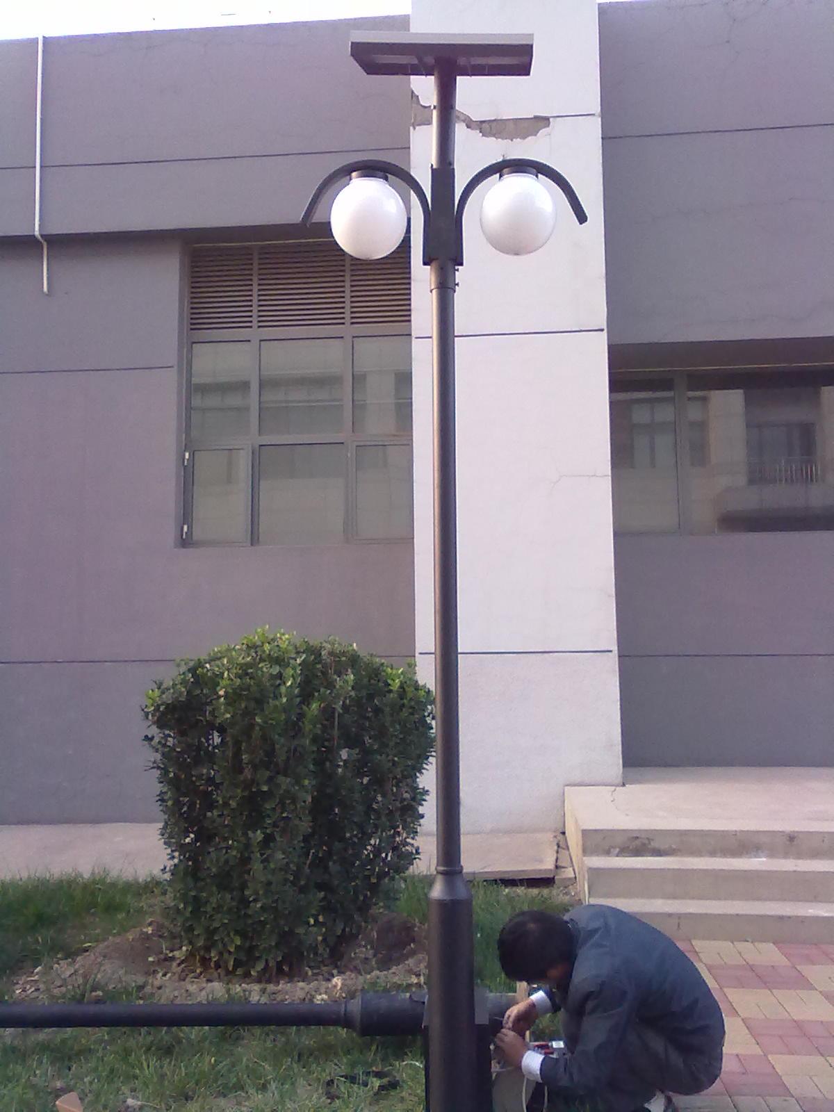 天津航空机电太阳能庭院灯工程