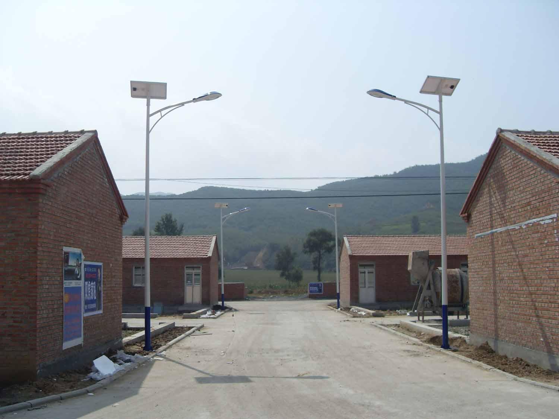 丰宁县胡麻乡太阳能路灯工程