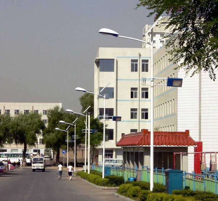 东北师大太阳能路灯工程
