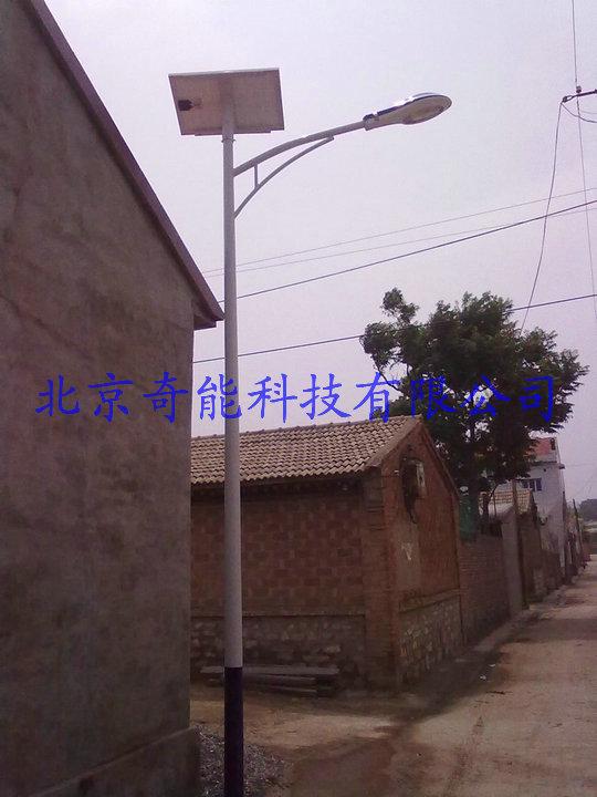 怀来夹河村太阳能路灯工程