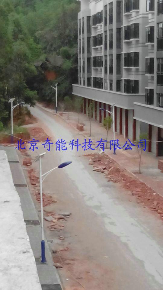 四川自贡震后重建小区太阳能照明