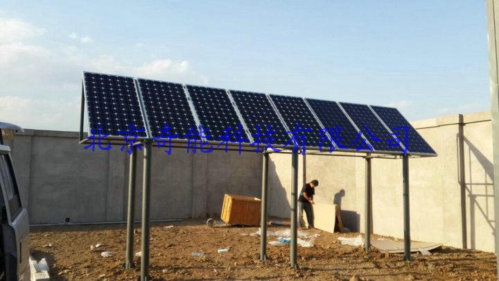 1600瓦太阳能发电系统安装实例