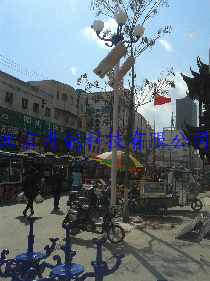辽宁盘锦太阳能景观灯街道亮化工程