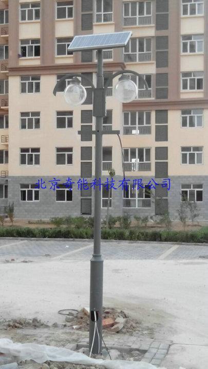 河北廊坊文安县某新住宅小区太阳能庭院灯
