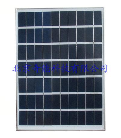 30W太阳能多晶电池板