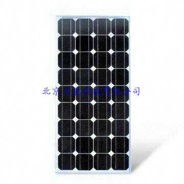 80W太阳能单晶电板板