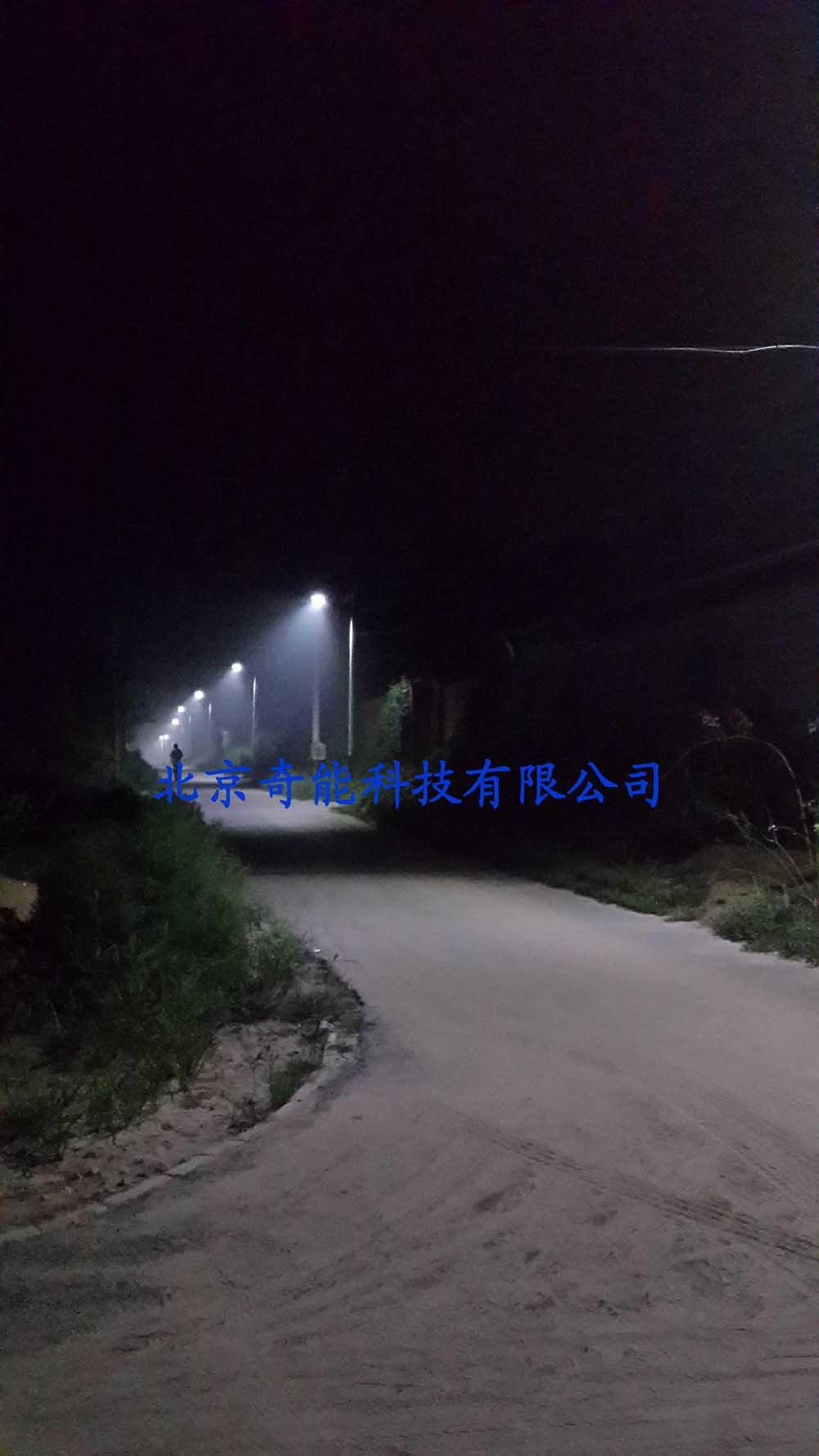 廊坊毛家营二期太阳能路灯工程