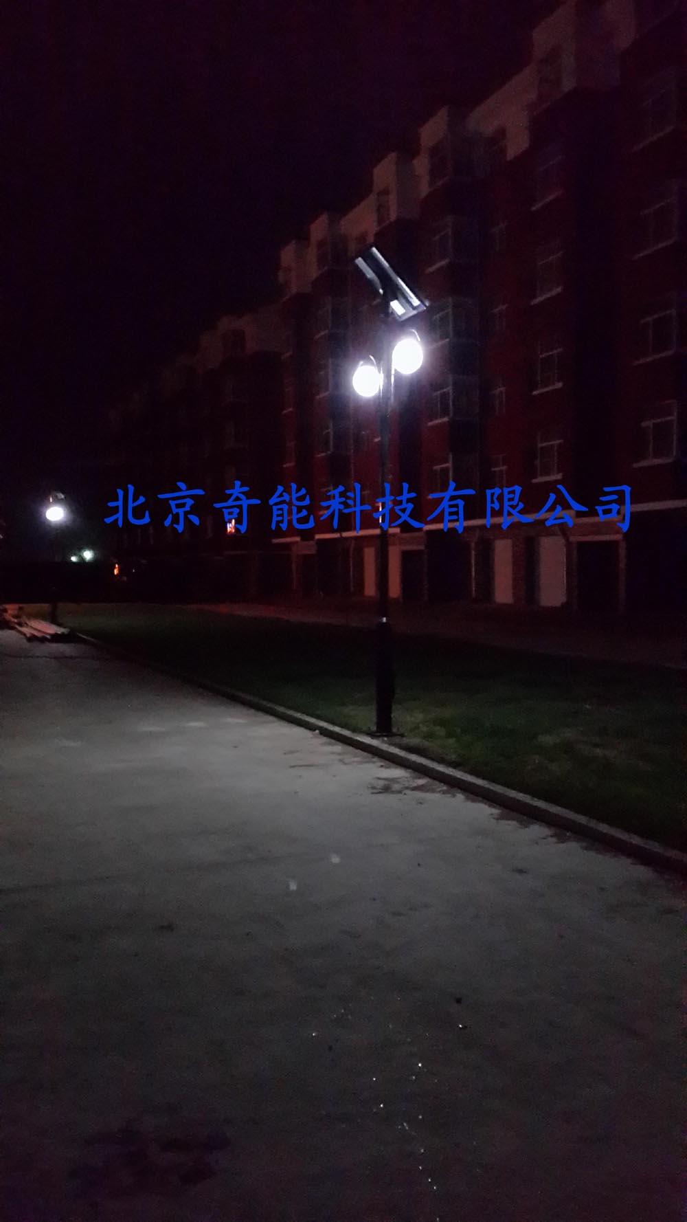 集宁馨院小区太阳能庭院灯工程