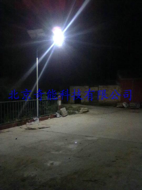 呼市新农村建设太阳能路灯工程