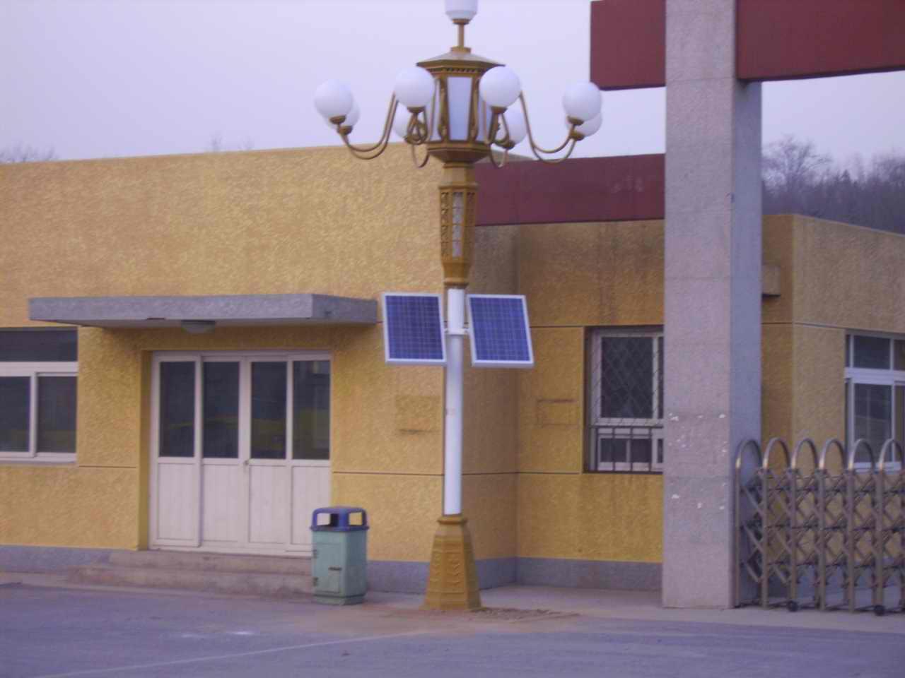 北京鹰山公园太阳能照明工程