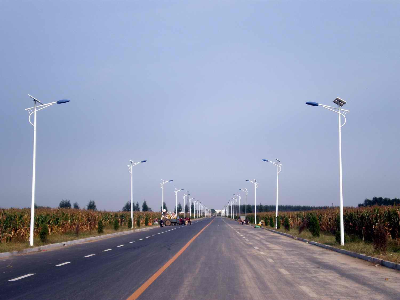 锦州乡村主干道太阳能路灯工程