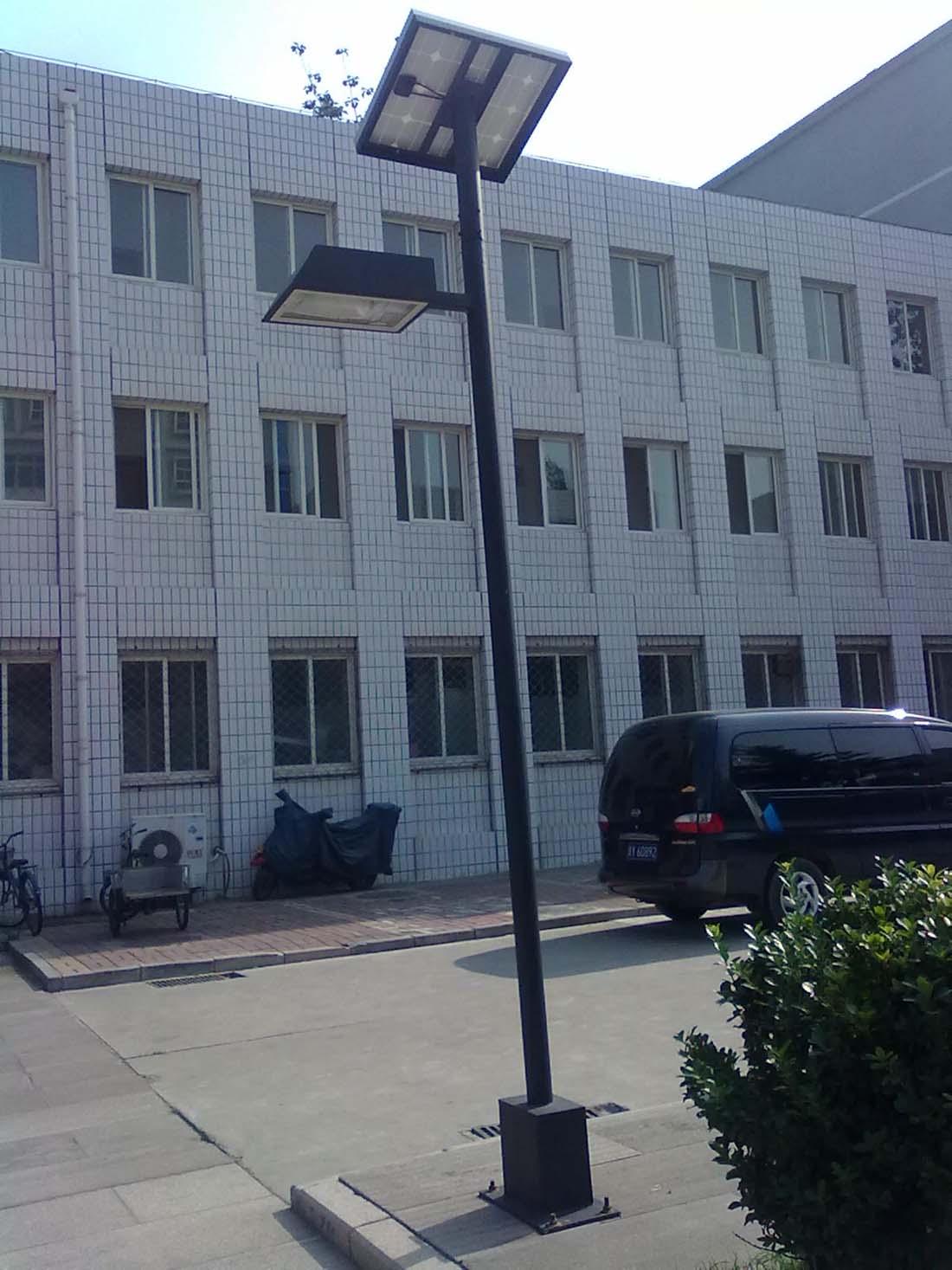 北京某警官学校太阳能庭院灯工程