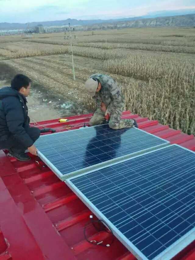 地壳应力研究所1KW离网太阳能系统
