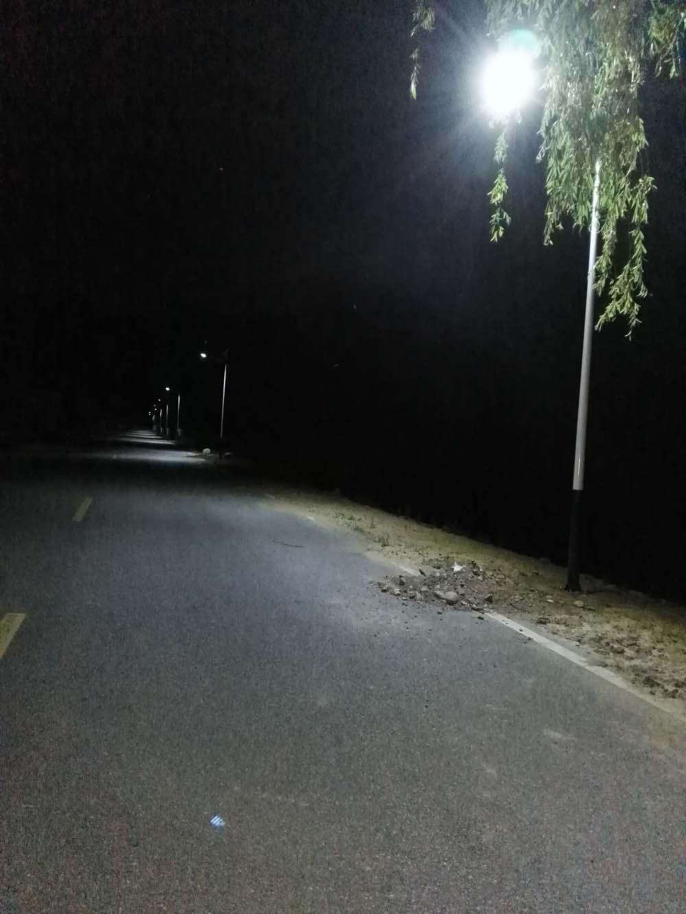 怀柔区四渡河村太阳能路灯工程
