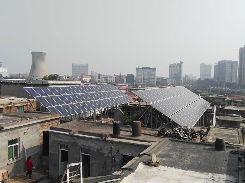 郭庄村30KW光伏发电系统
