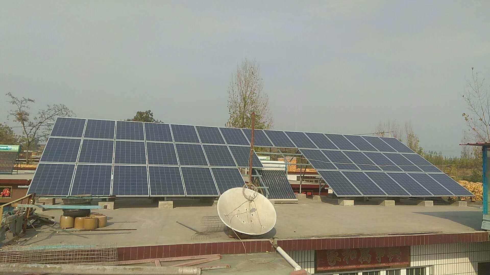 磁县里青村10KW光伏发电系统