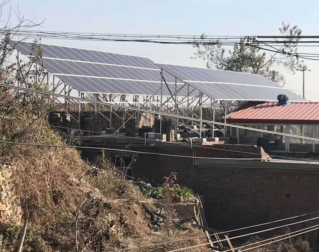 新立村20KW光伏发电系统