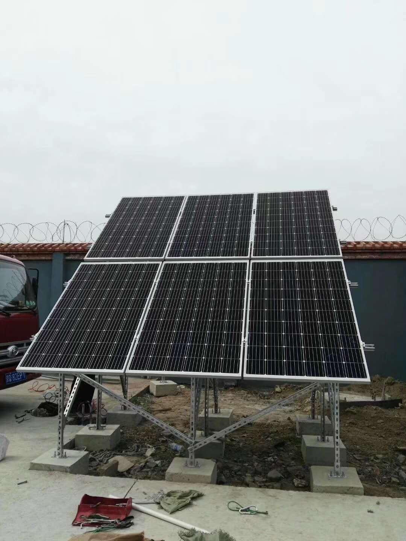 燃气离网太阳能发电系统