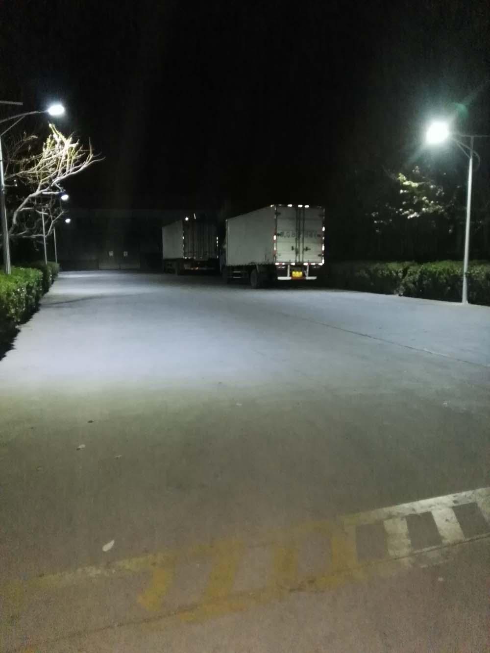 燕郊工厂太阳能路灯照明