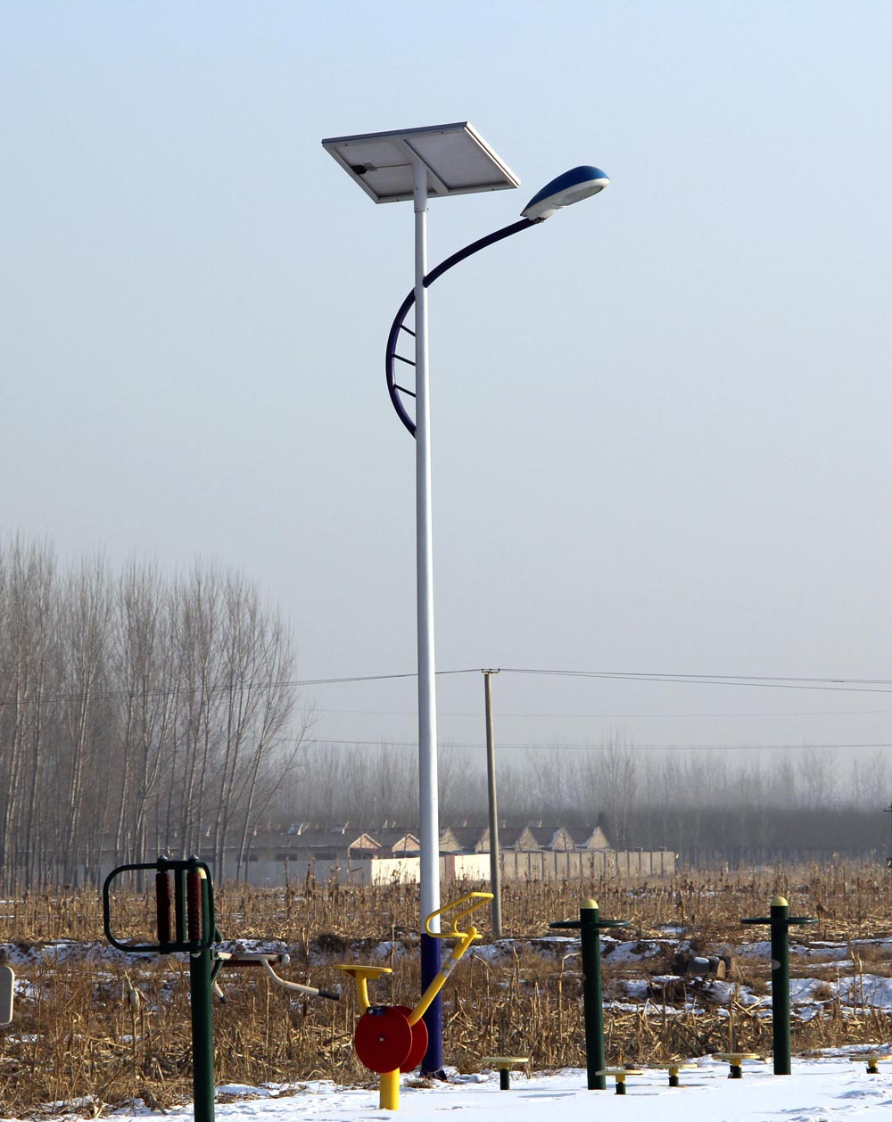 新农村安装太阳能路灯一盏造价多少