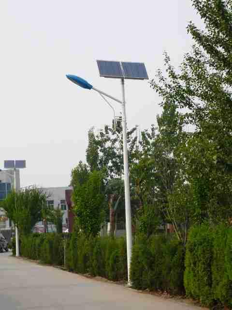 节能环保路灯 太阳能路灯出现故障了怎么办