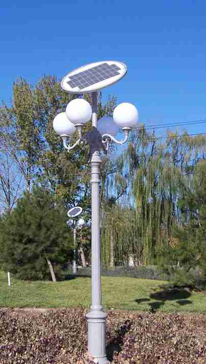 庭院灯全部采用太阳能路灯