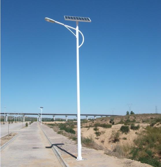 70盏太阳能路灯落地布瓦 点亮羌寨群众幸福奔康路