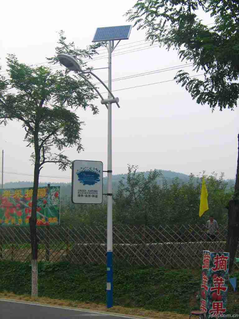 武夷山农村 推广太阳能路灯
