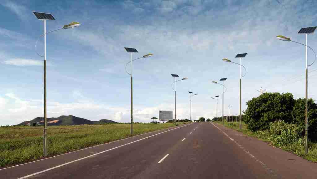 中行向孟连芒冒村捐赠太阳能路灯