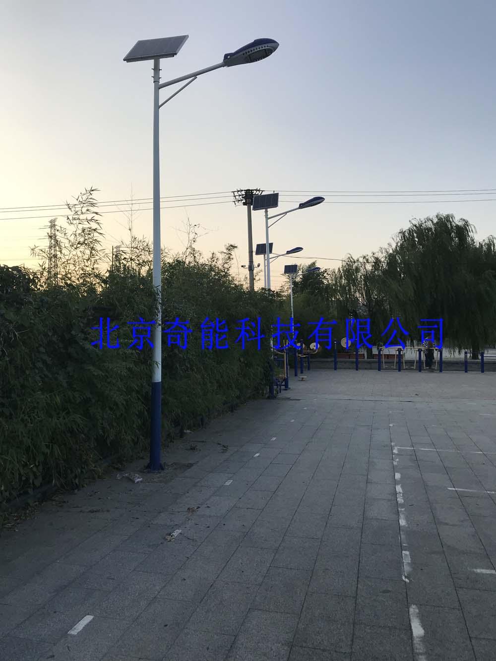 石景山社区太阳能路灯