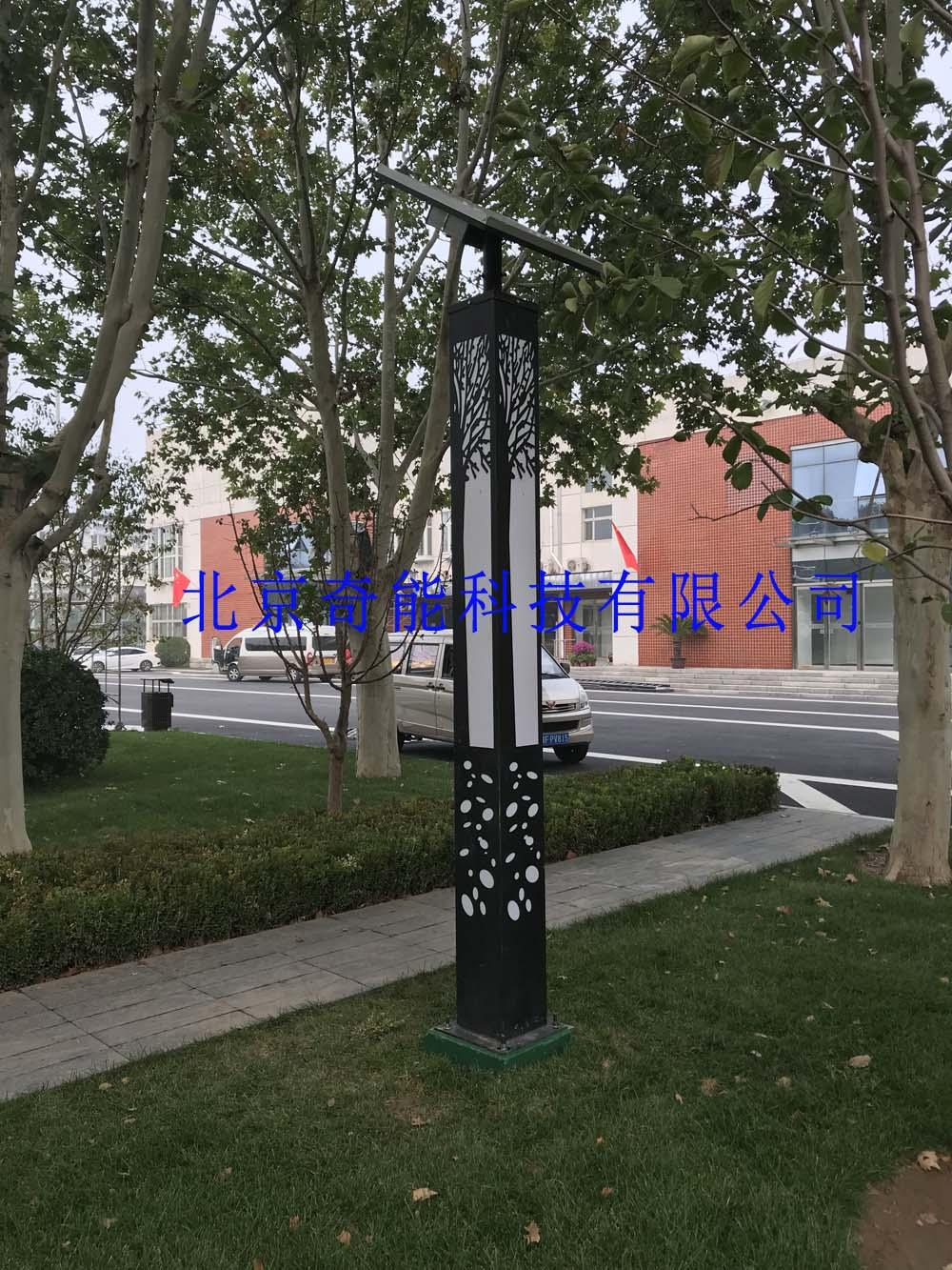 马驹桥公园太阳能景观灯