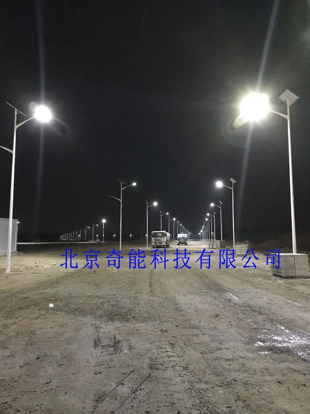 大兴国际机场8米市电互补太阳能路灯